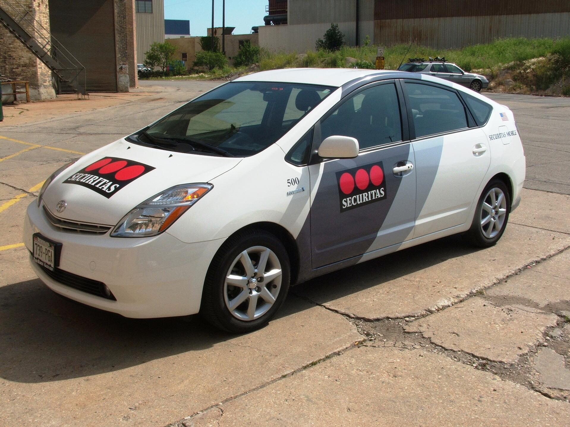 mobile patrol car