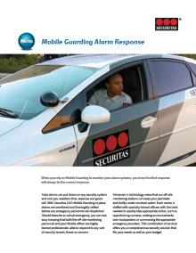 Alarm Response Brochure